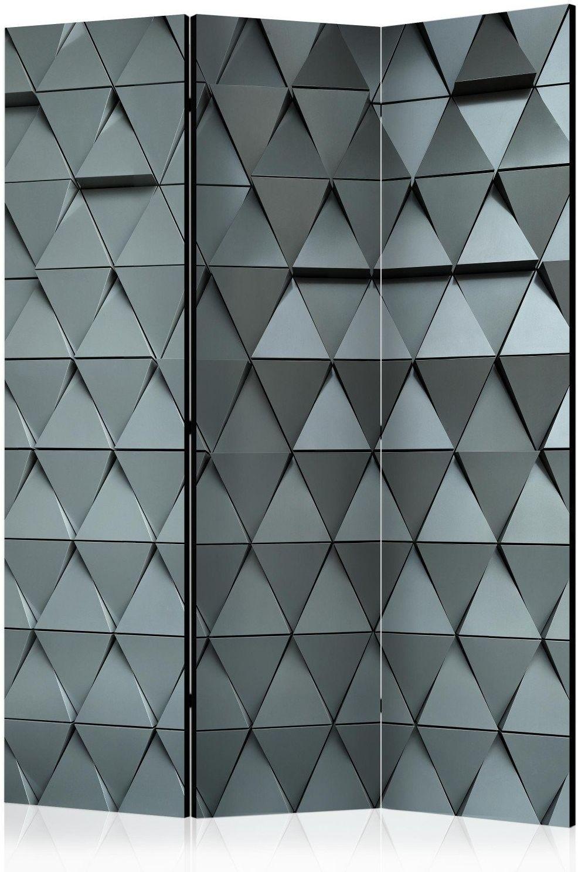 Parawan 3-częściowy - metalowe wrota [room dividers]