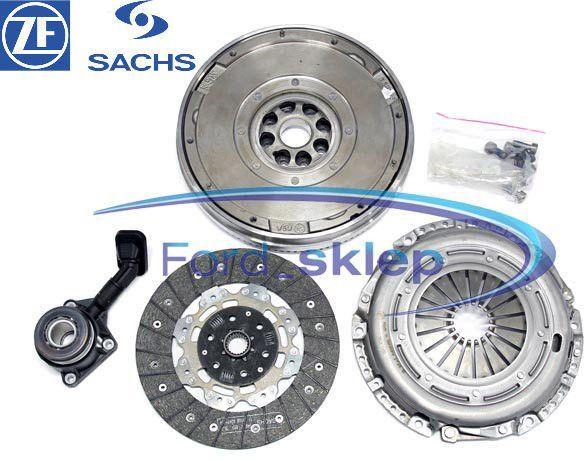 1.8 TDCI (5-bieg.) sprzęgło + koło zamachowe Sachs + łożysko Ford