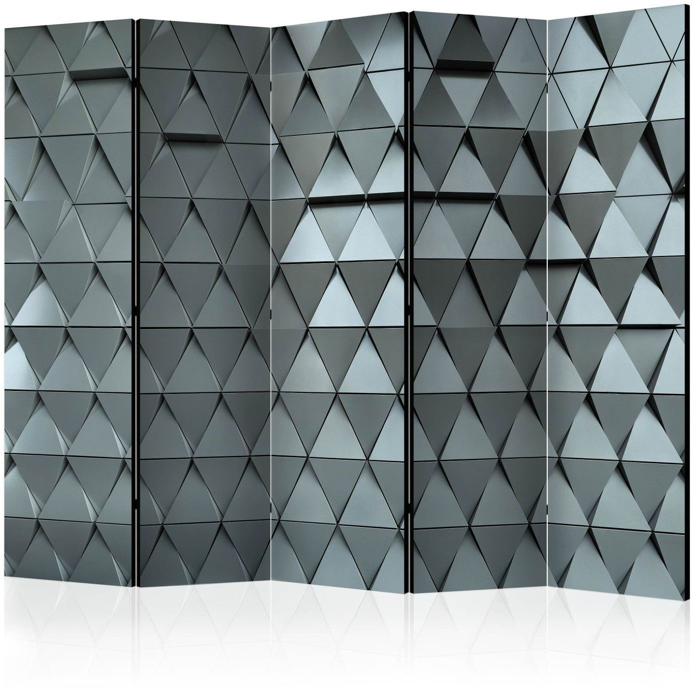 Parawan 5-częściowy - metalowe wrota ii [room dividers]