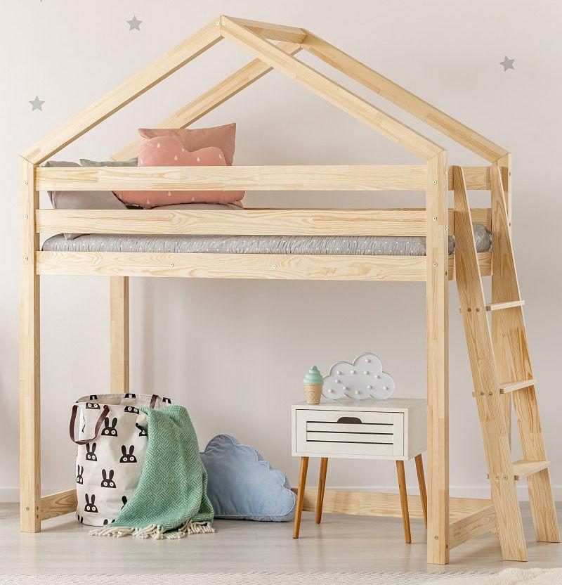 Piętrowe łóżko domek Miles 9X - 12 rozmiarów