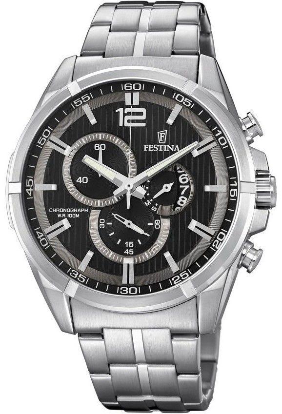 Zegarek Festina F6865-4 Chrono Sport - CENA DO NEGOCJACJI - DOSTAWA DHL GRATIS, KUPUJ BEZ RYZYKA - 100 dni na zwrot, możliwość wygrawerowania dowolnego tekstu.