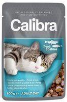 CALIBRA CAT NEW PREMIUM ADULT TROUT & SALMON 100G