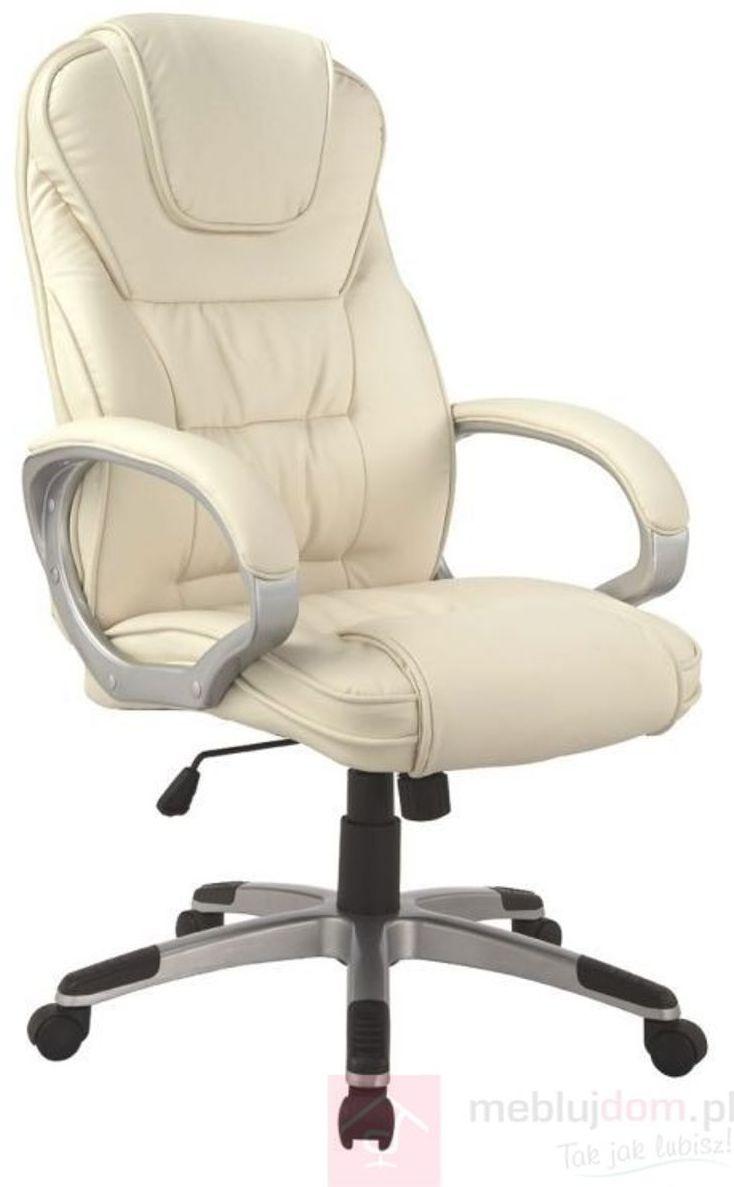 KUPON 10% NA STRONIE  Fotel obrotowy Q-031 Signal Beżowy