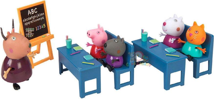 Świnka Peppa - Klasa Peppy z przyjaciółmi 05033