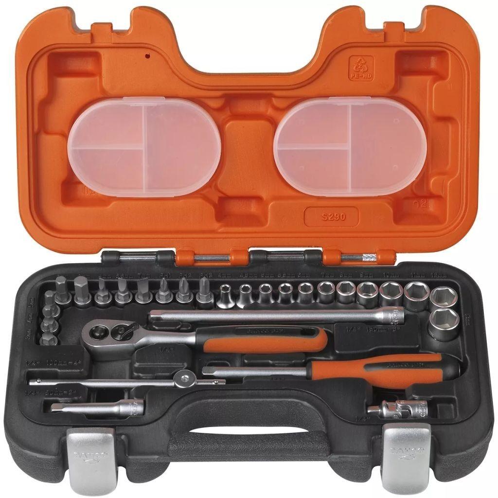 """zestaw kluczy nasadowych 1/4"""" BAHCO [S290]"""