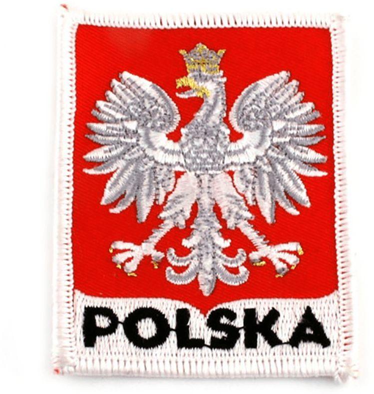 Naszywka haftowana Godło polski