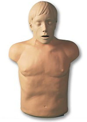 BRAD  fantom BLS/AED ze wskaźnikiem diodowym i ruchomą żuchwą