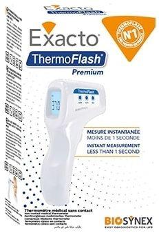 EXACTO THERMOFLASH LX26 PREMIUM Termometr bezdotykowy, biały