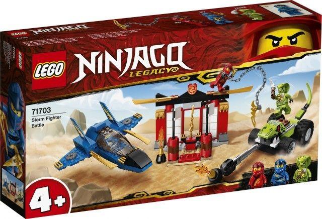 Klocki Ninjago Bitwa burzowego myśliwca
