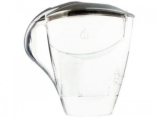 Dafi ASTRA MI 3,0L STALOWY Dzbanek do wody filtr 1 szt Classic + 6 szt FilterLogic FL-601G