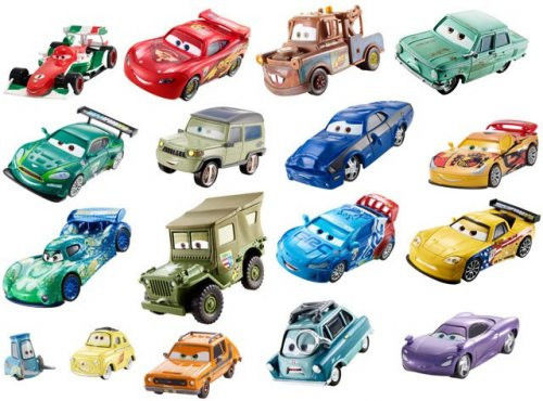 Mattel - Cars Auta Sarge Kamasz BDX48 W1938