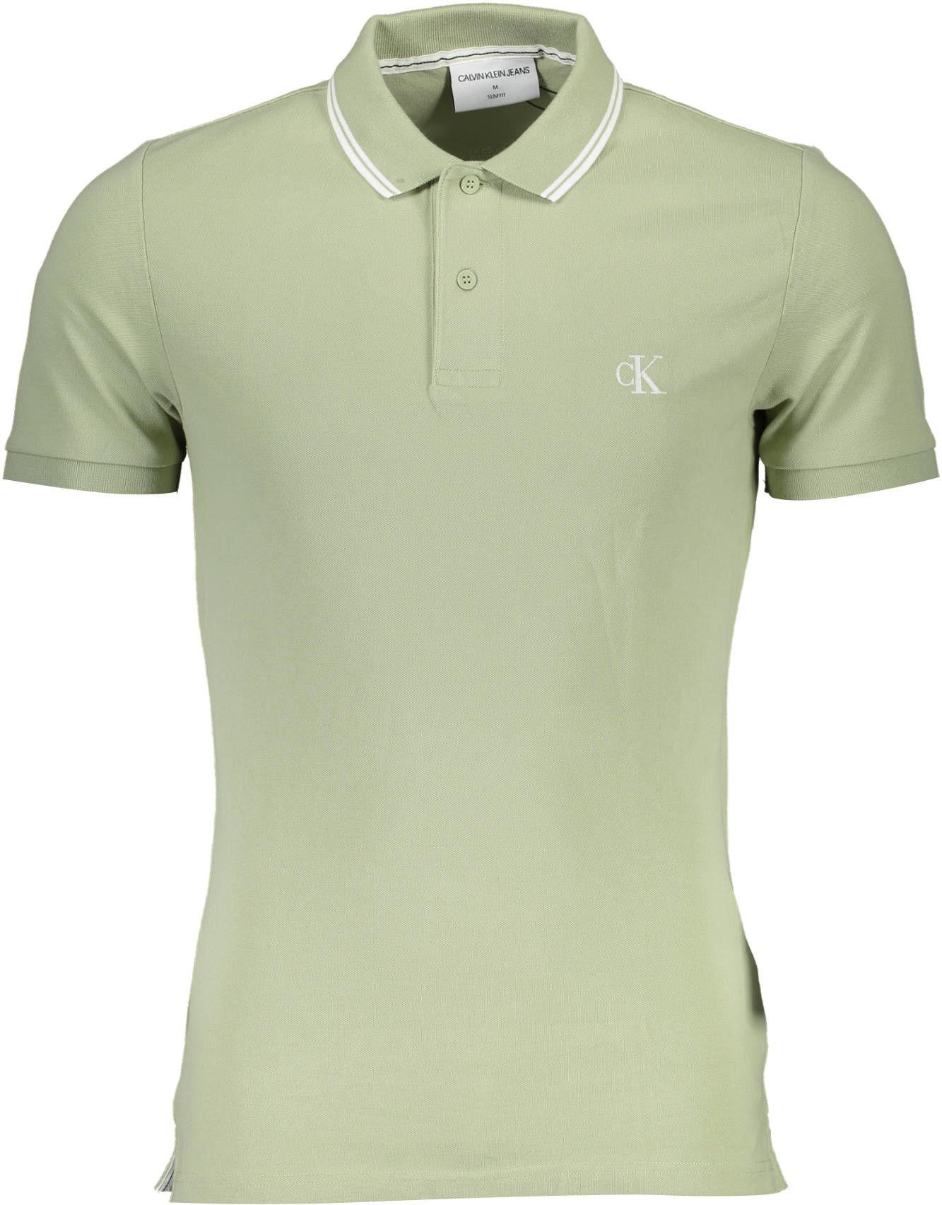 Koszulka polo CALVIN KLEIN Krótkie rękawy