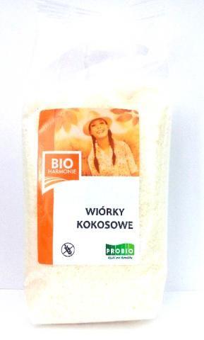 Wiórki kokosowe Bio bezglutenowe 200g Probio
