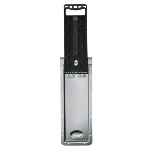 Adam Hall Hardware 34733 - Wpuszczany, rozkładany uchwyt do skrzyń na kółkach o długości 434 - 684 mm