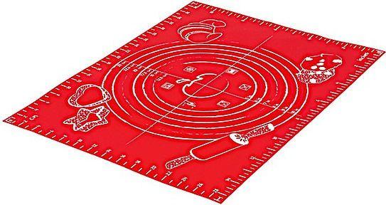 Stolnica mastrad 30 x 40 cm czerwona silikonowa