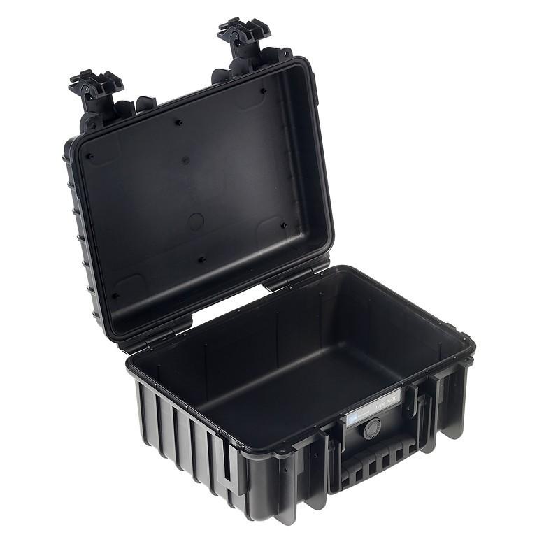 Walizka transportowa B&W outdoor.cases Typ 3000 bez wypełnienia czarna - WYSYŁKA W 24H
