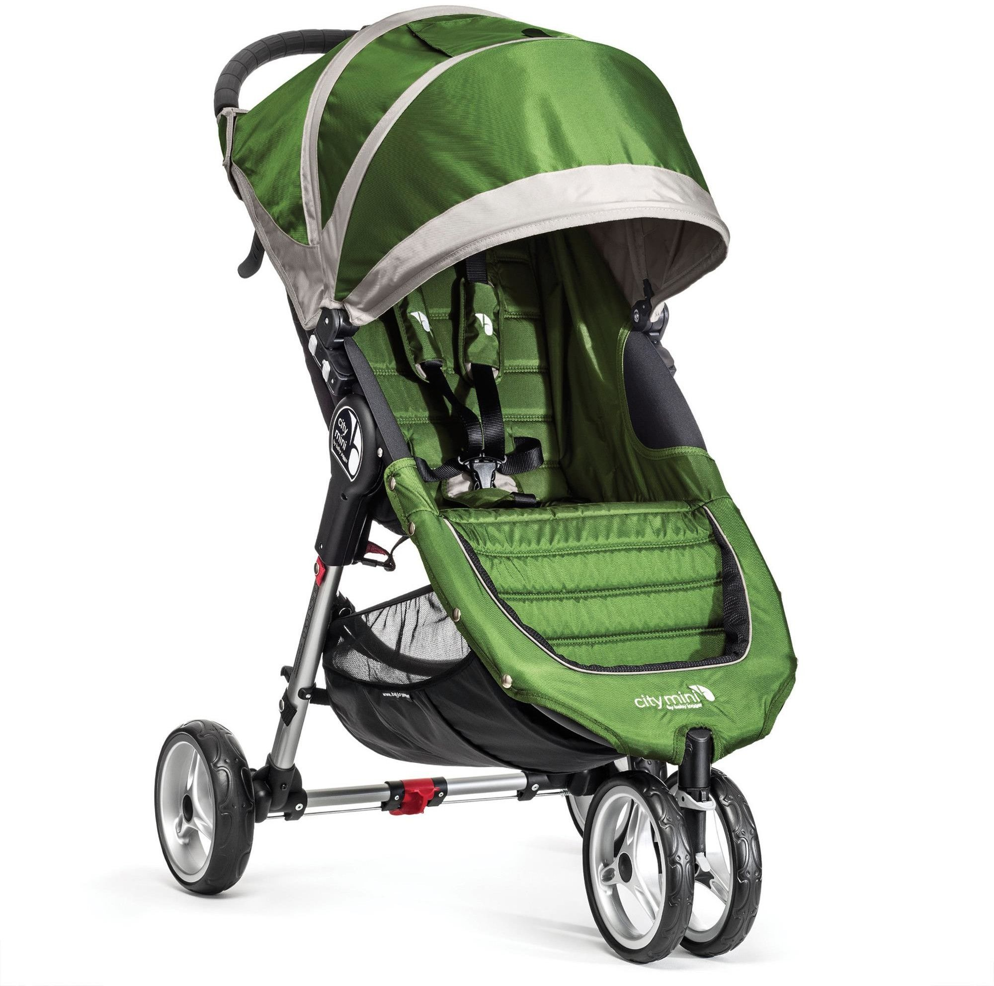 Baby Jogger City Mini Single wózek spacerowy lime grey