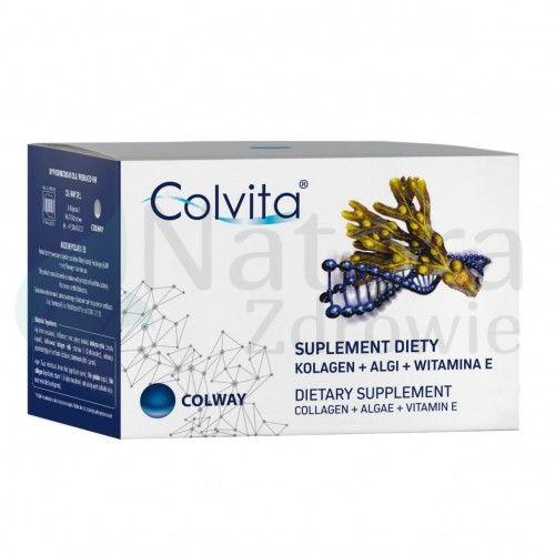 Colvita Colway Kolagen + Algi + Witamin E - 60kaps Oryginał