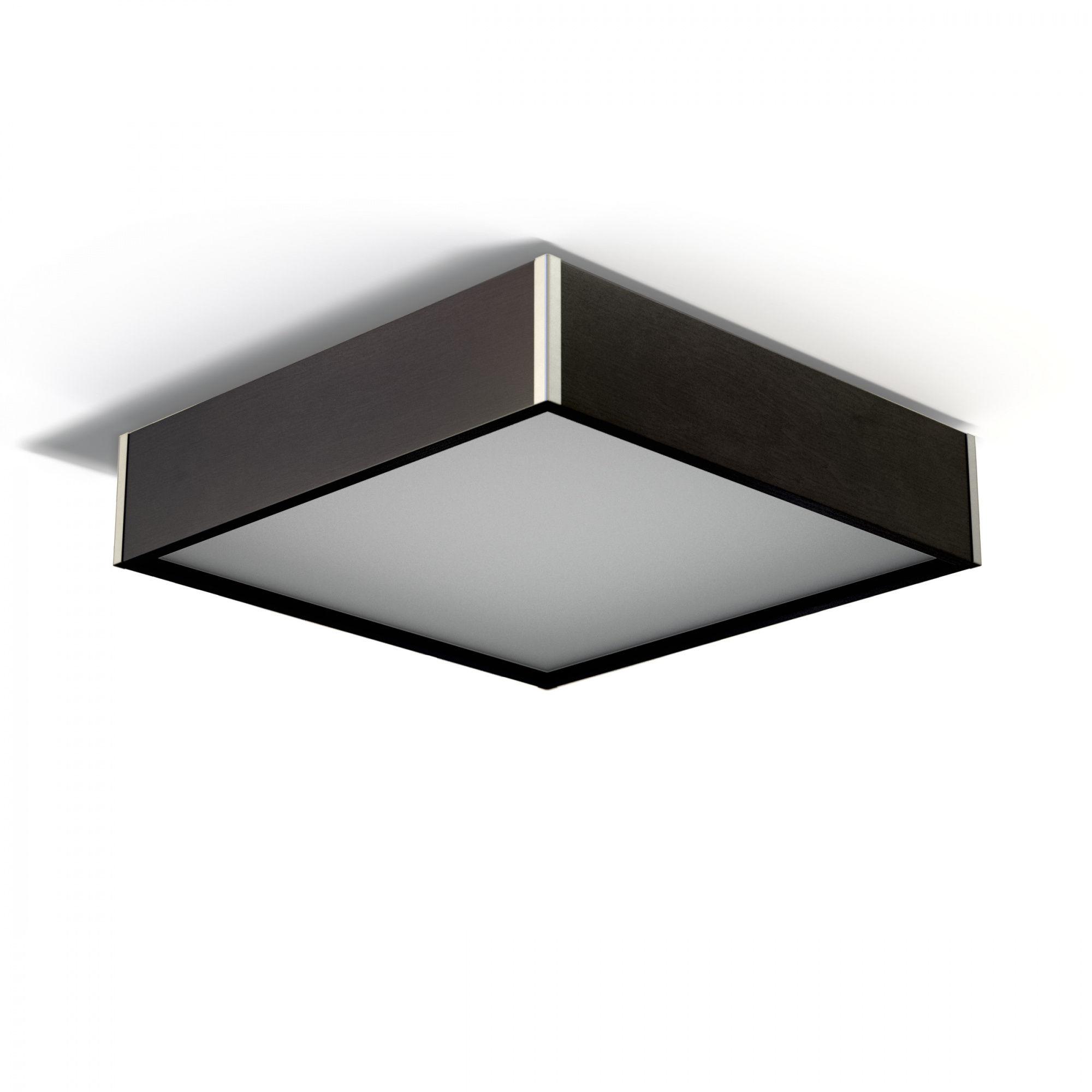 Plafon Avatar 500 1172P5 różne kolory Cleoni kwadratowa oprawa w minimalistycznym stylu