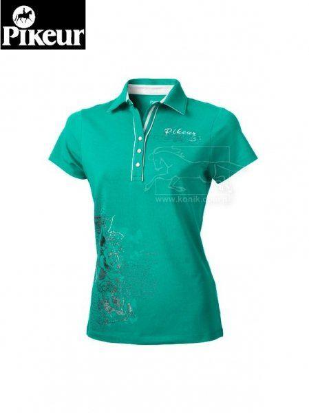 Koszulka polo Pikeur CECIL - aqua