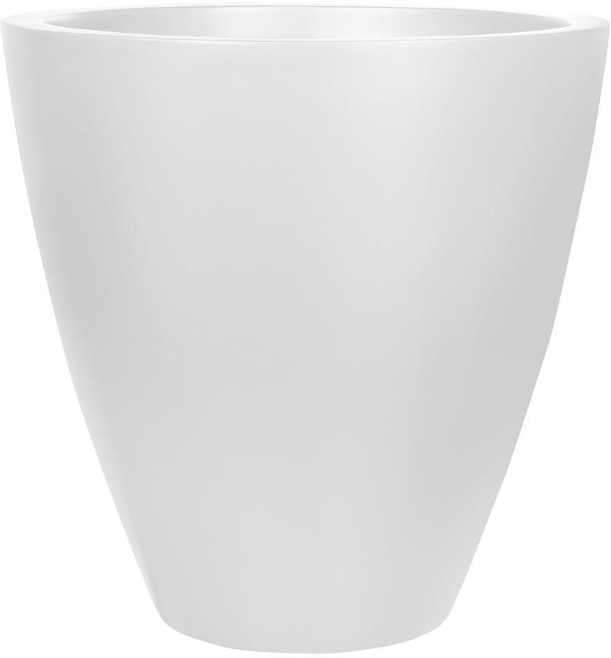 Donica z włókna szklanego D280C biały połysk