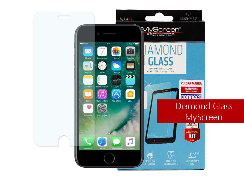 Apple iPhone 7 - szkło hartowane MyScreen Protector Diamond Glass