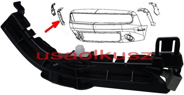 Ślizg błotnika mocowanie zderzaka przedniego prawe Dodge Challenger