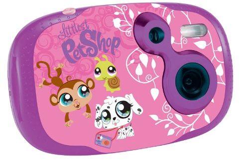 Lexibook Littlest Pet Shop cyfrowa kamera dla dzieci