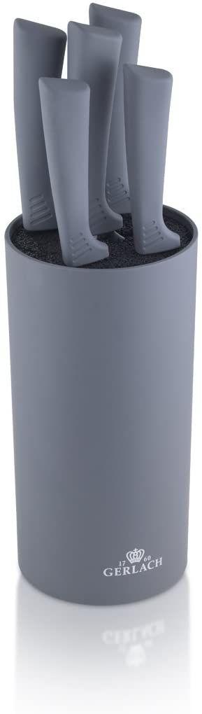 Gerlach Smart Grey Nk994 Zestaw Noży ,Szary ,16 X 12 X 36.5 Cm