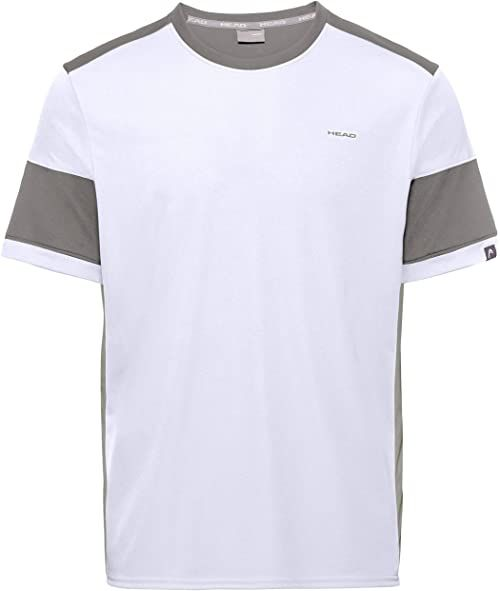 HEAD męska koszulka do siatkówki, biały/szary, XL