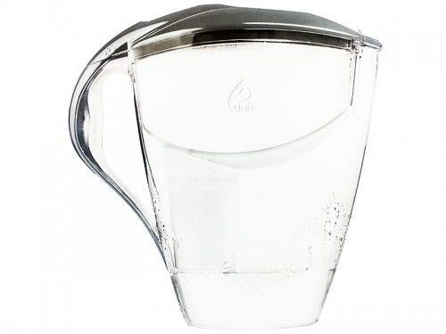 Dafi ASTRA MI 3,0L STALOWY Dzbanek do wody filtr 1 szt Classic + 3 szt FilterLogic FL-601G