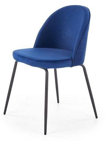 Krzesło K314 - granatowe