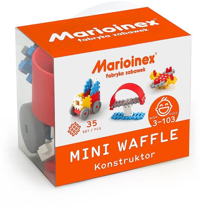 Klocki ''mini waffle'' Konstruktor chłopięcy 35el (5903033902783)