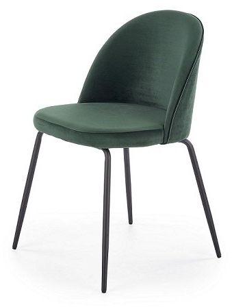 Krzesło K314 - ciemnozielone