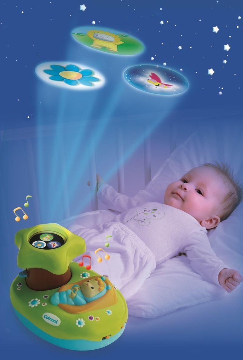 Smoby Cotoons - Lampka Projektor niebieski 211422