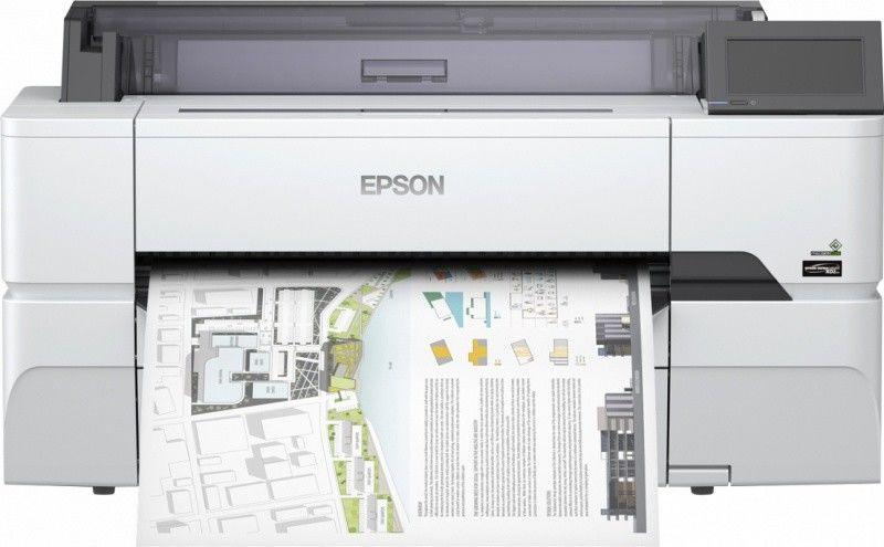 Ploter EPSON SureColor SC-T3405N bez podstawy (610mm) + 50m papieru GRATIS - Epson Pro CAD+ Partner (C11CJ55302A0)