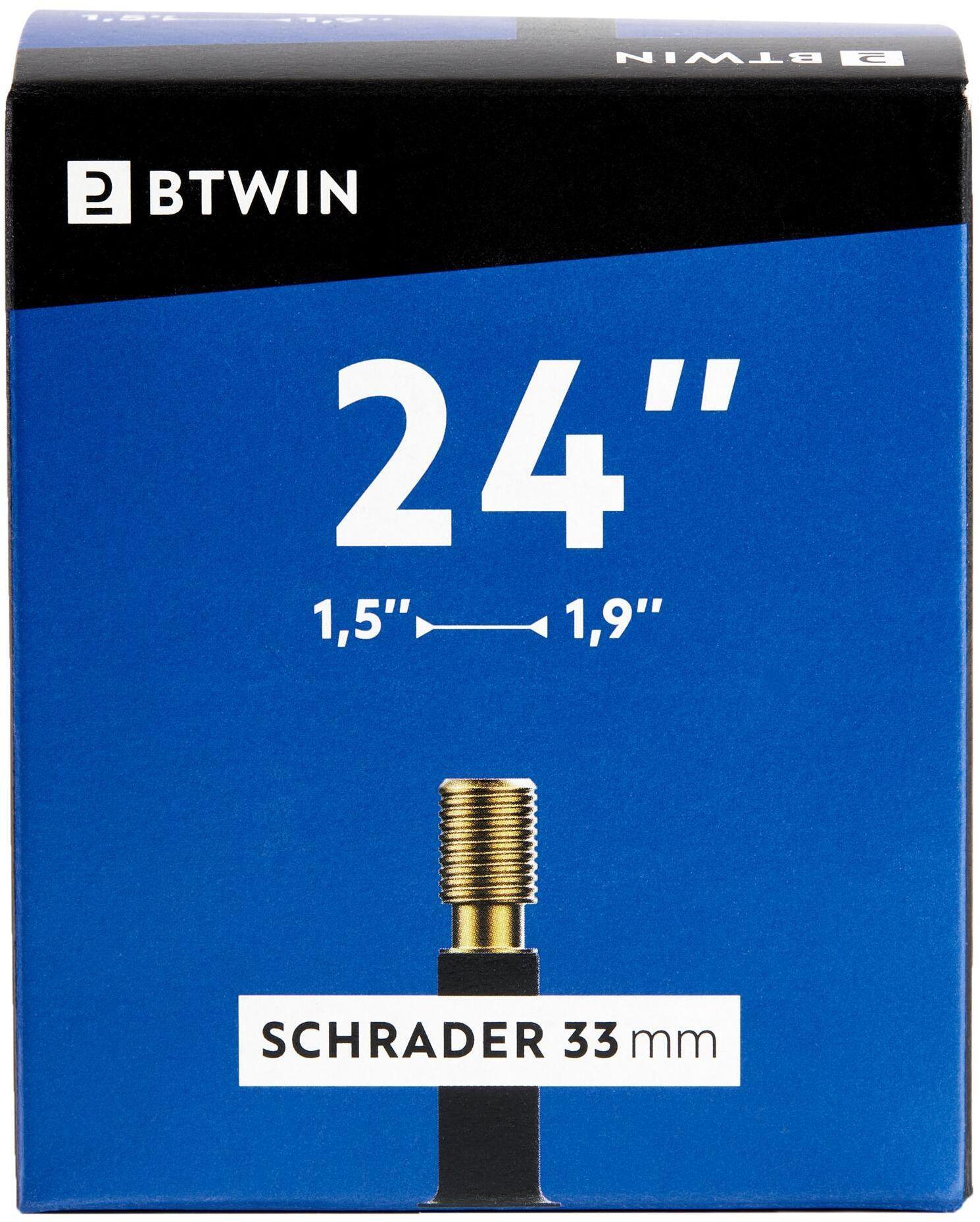 """Dętka Rowerowa 24""""X1,5/1,9 Z Wentylem Schrader"""