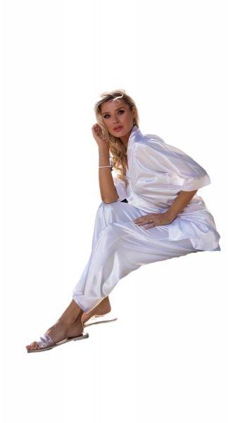 Piżama damska dkaren keira biały