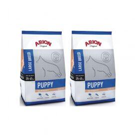 Pakiet Arion Original Salmon & Rice Large Puppy 2 x 3 kg