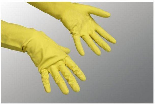 Rękawice ochronne Vileda Contract - gospodarcze