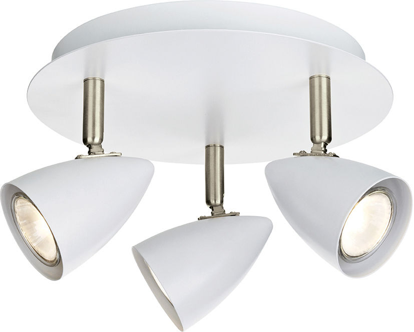 Markslojd lampa sufitowa plafon Ciro biały 107412 26cm / 24h
