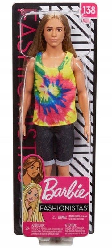 Barbie Fashionistas - Modny Ken 138 GHW66