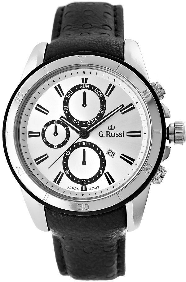 Zegarek Męski G.Rossi 5799A-3A1