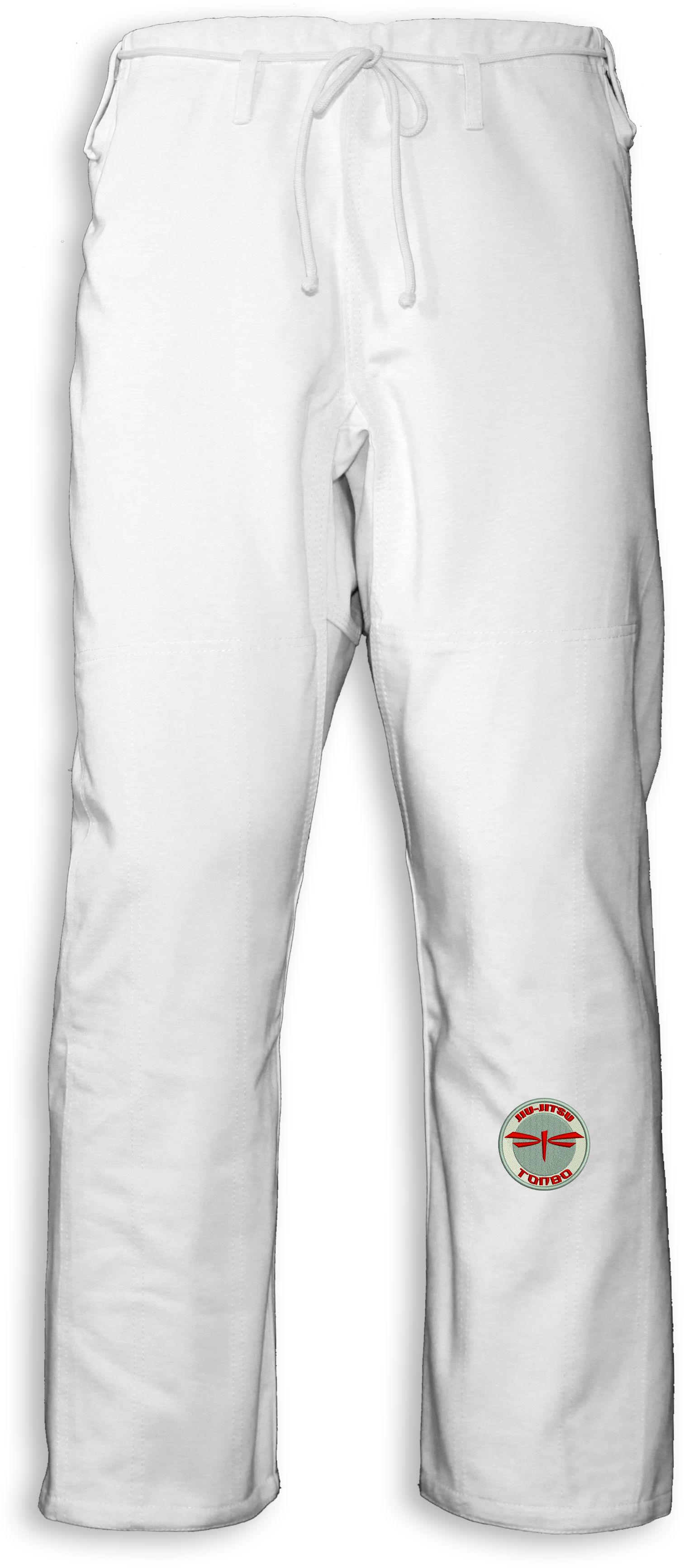 spodnie BJJ / Jiu-jitsu NAKED, białe, 12oz (27 rozmiarów)