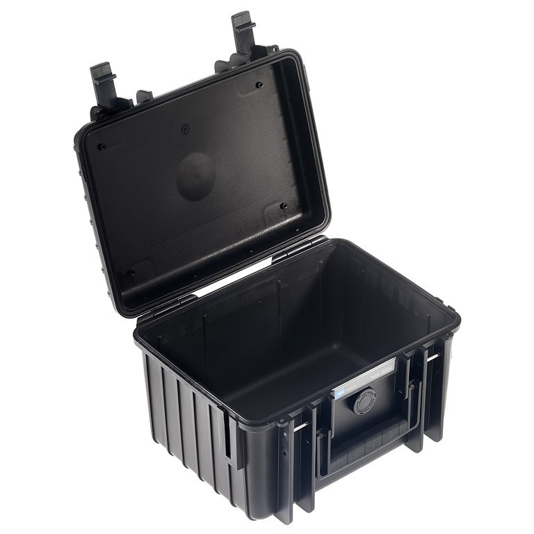 Walizka transportowa B&W outdoor.cases Typ 2000 bez wypełnienia Czarna - WYSYŁKA W 24H