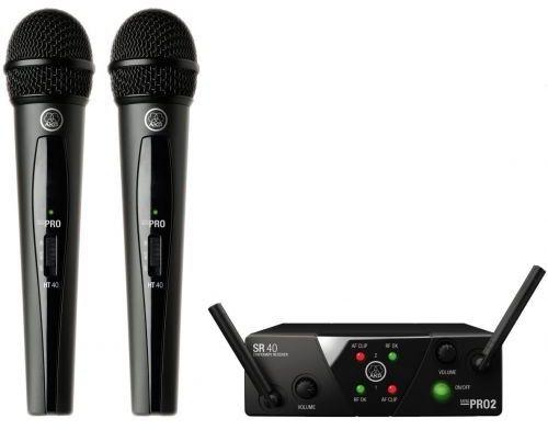 AKG WMS40 MINI Dual Vocal - US25 B/D (537.900 MHz - 540.400 MHz)