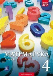 Matematyka podręcznik dla klasy 4 szkoły podstawowej 178801 832/1/2017 ZAKŁADKA DO KSIĄŻEK GRATIS DO KAŻDEGO ZAMÓWIENIA