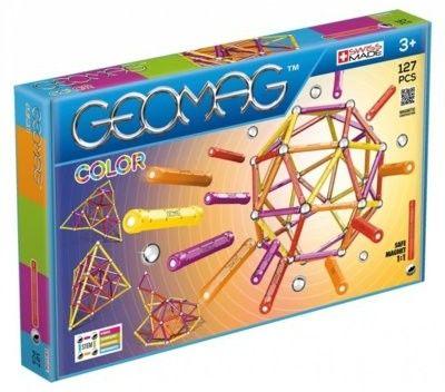 GeoMag - Klocki magnetyczne Confetti 127 el. 354