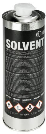 Adam Hall Hardware 01363 1 L - Rozcieńczalnik do kleju w sprayu 01362, pojemnik 1 kg, Wakol