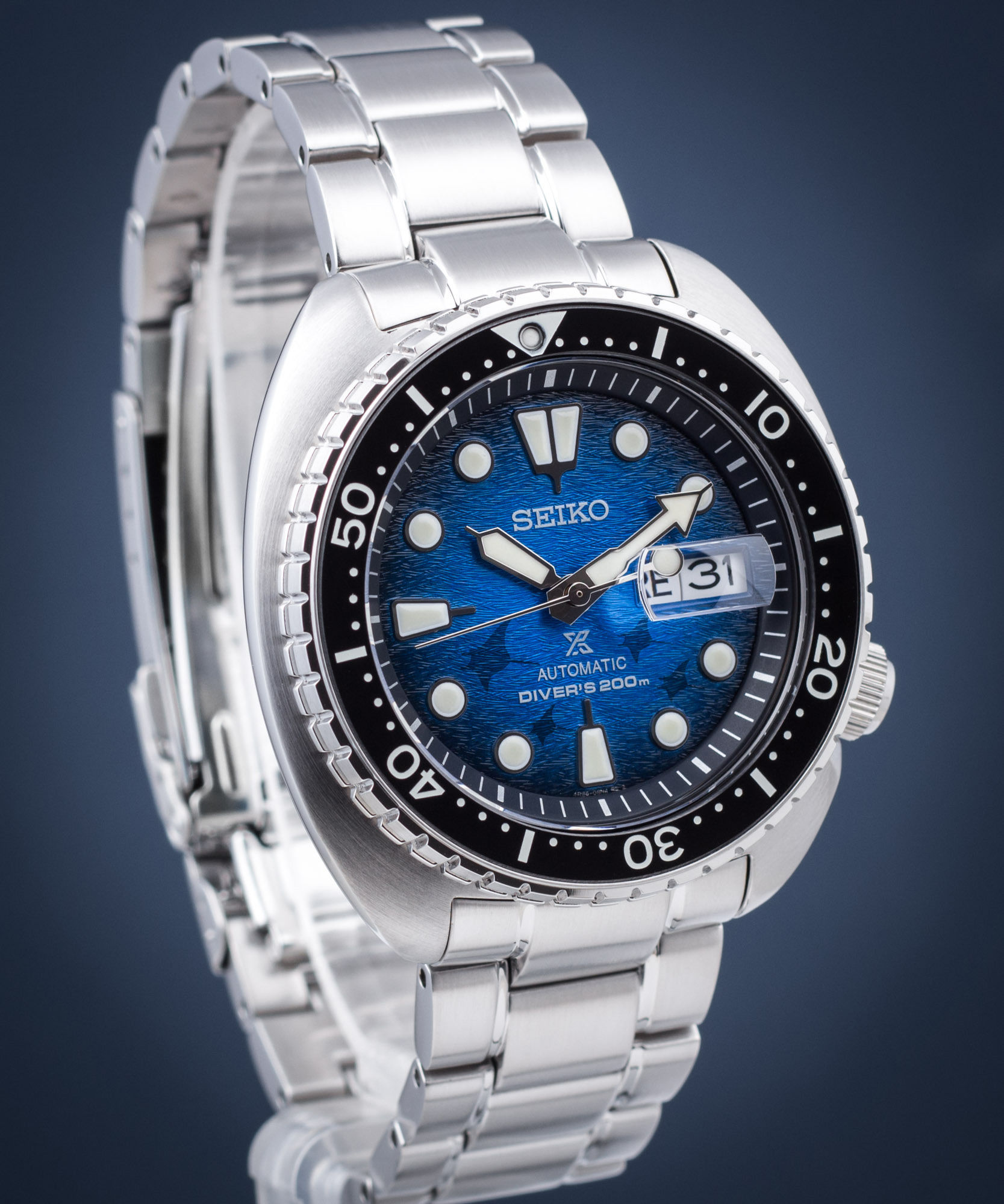 Zegarek męski Seiko Prospex Diver''s King Turtle Save The Ocean Special Edition Automatic